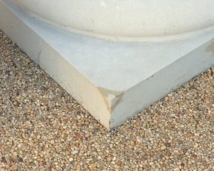 Stone-repair-column-after