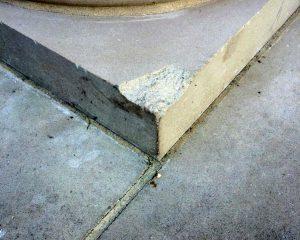 Stone-repair-column-before