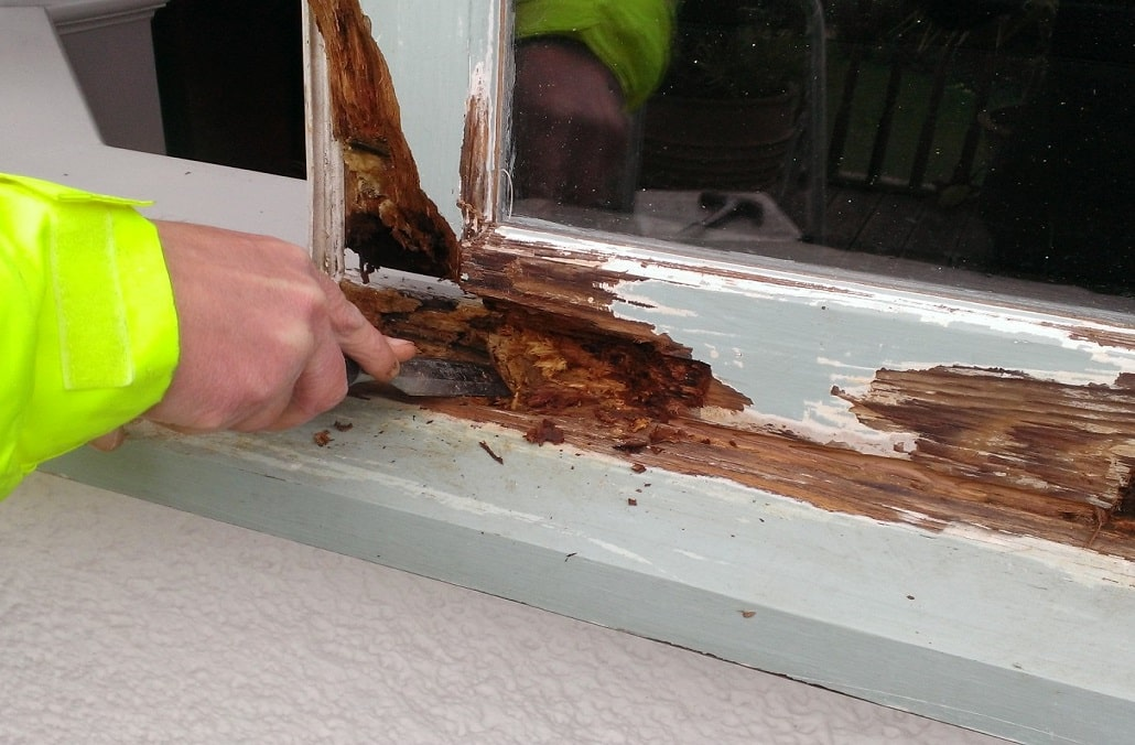 Wooden Window Repair